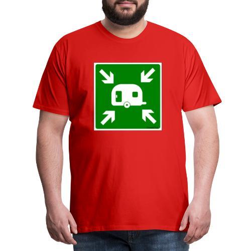 Meeting Point Caravan - Männer Premium T-Shirt