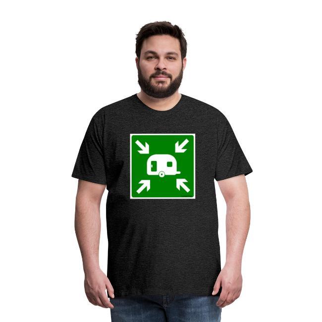 "Premium T-Shirt ""Meeting Point Caravan"""
