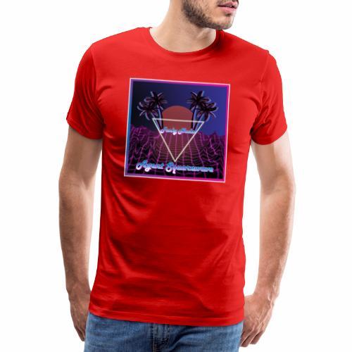 Agent Squarewave - Funky Noobs - Men's Premium T-Shirt