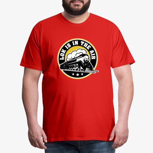 LOK IS IN THE AIR - Männer Premium T-Shirt