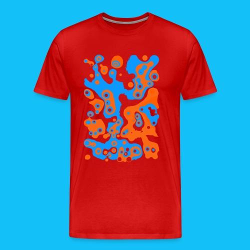 Fruchtsaft Blaubeer-Orange-Mix - Männer Premium T-Shirt