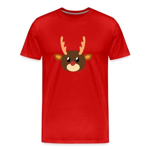Rentier »Rudy« - Men's Premium T-Shirt