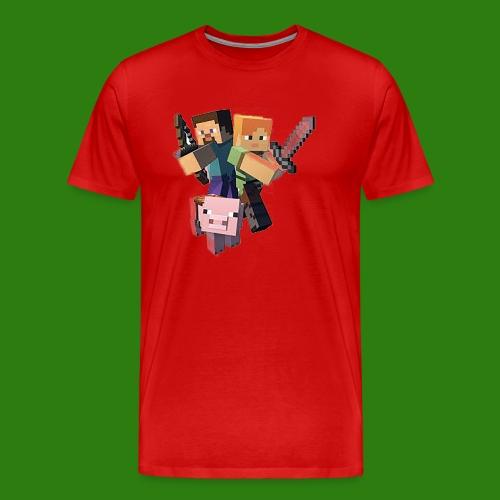 Minecraft - Maglietta Premium da uomo