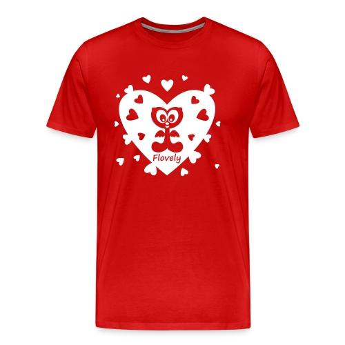 Flovely Herz - Männer Premium T-Shirt