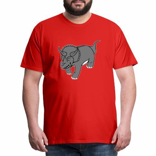 Triceratops - T-shirt Premium Homme