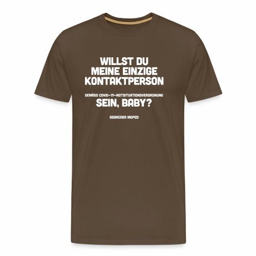Kontaktperson - Männer Premium T-Shirt