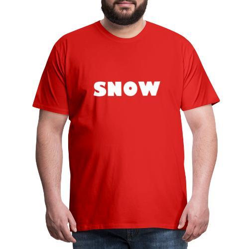 SNOW - Männer Premium T-Shirt