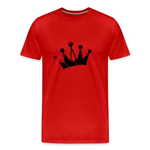 Faded crown - Men's Premium T-Shirt