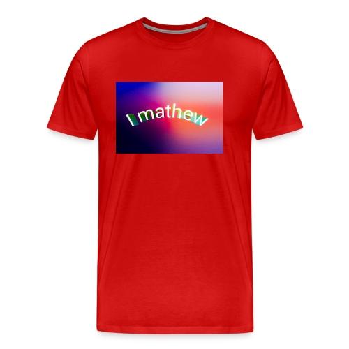 Prodotti I M4thew - Maglietta Premium da uomo