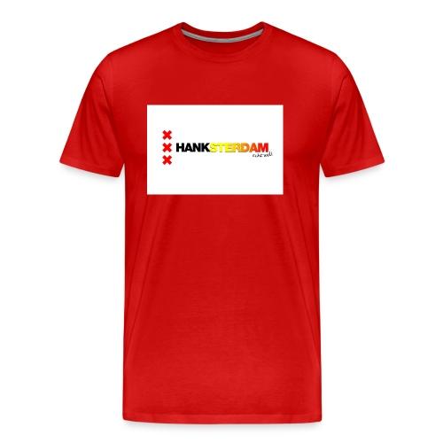 Hanksterdam! Echt wel! - Mannen Premium T-shirt