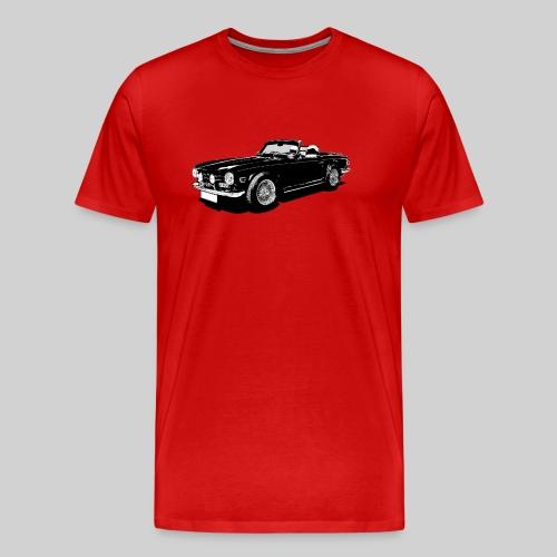 Classic British sports car - Men's Premium T-Shirt