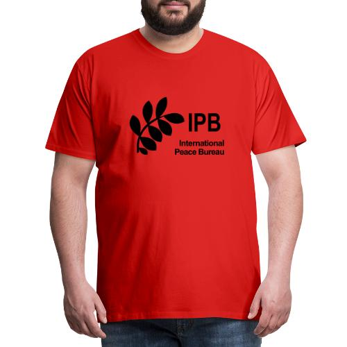 International Peace Bureau IPB Logo black - Men's Premium T-Shirt