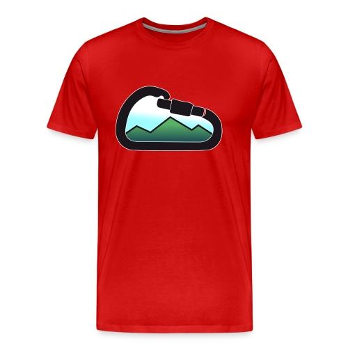 Mountain Carabiner - Camiseta premium hombre