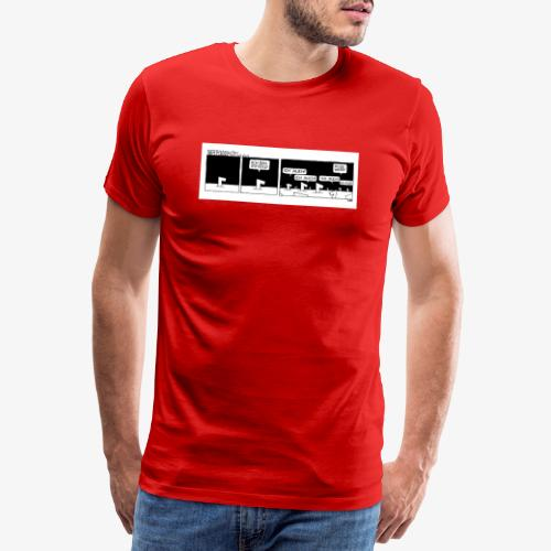 Es war 1x - Männer Premium T-Shirt