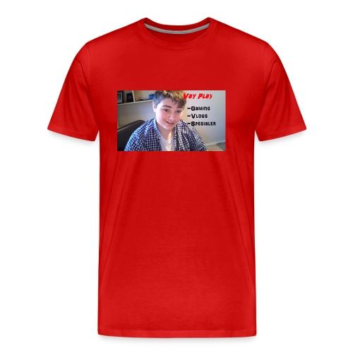 VayPlay kanal-bilde - Premium T-skjorte for menn