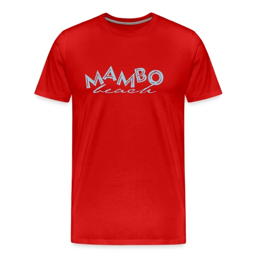 logo mambo blauw los eps orgineel - Mannen Premium T-shirt