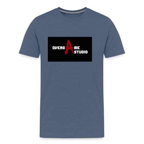 overgameStudio Logo - T-shirt Premium Homme