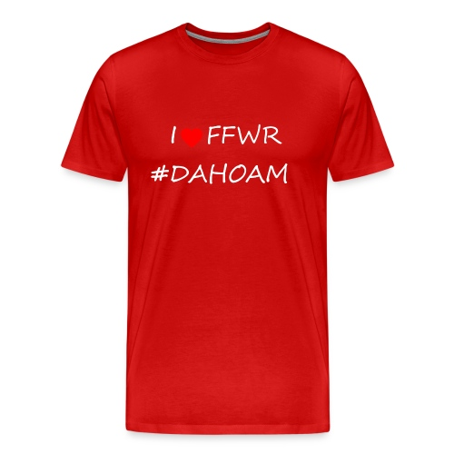 I ❤️ FFWR #DAHOAM - Männer Premium T-Shirt