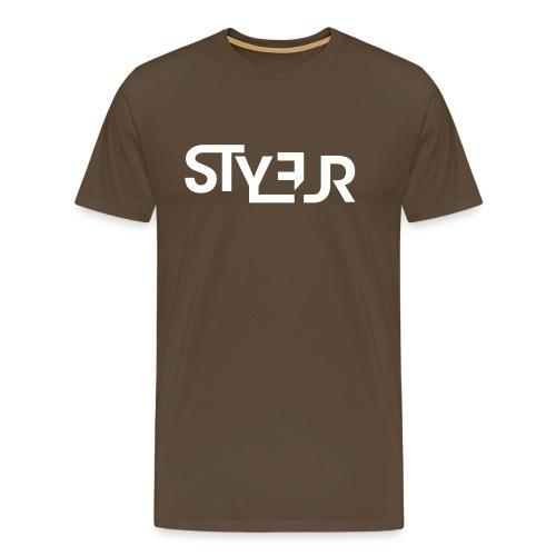 styleur logo spreadhsirt - Männer Premium T-Shirt