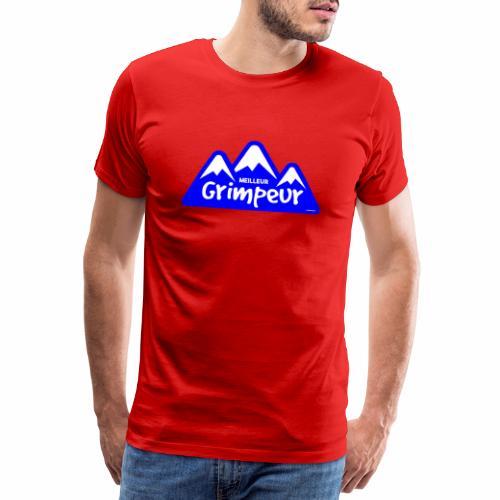 Klimmer - Mannen Premium T-shirt