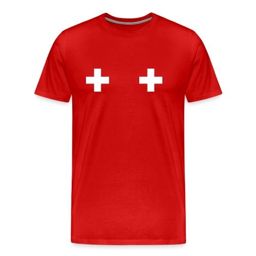 Swiss Boobs - T-shirt Premium Homme