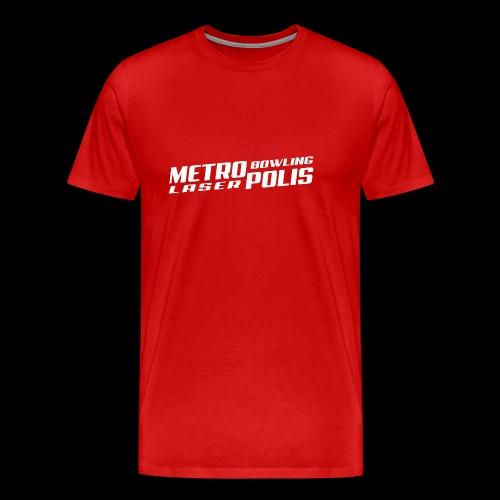 Métropolis Bowling-Laser - T-shirt Premium Homme