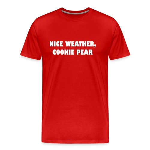 cookie pear - Mannen Premium T-shirt