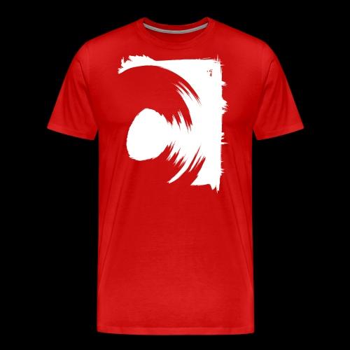 spin (white) - Männer Premium T-Shirt