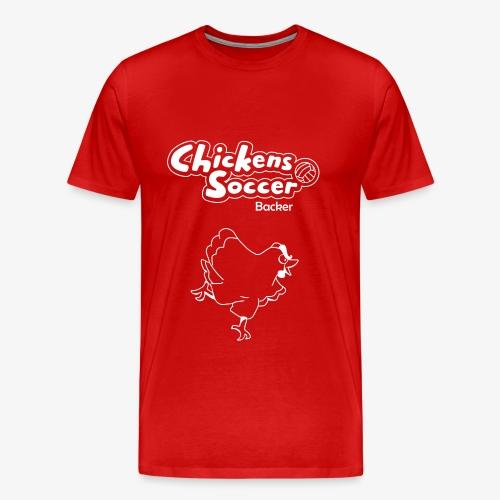 chickens t shirt backer - Men's Premium T-Shirt