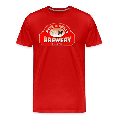 petes_brewery - Männer Premium T-Shirt