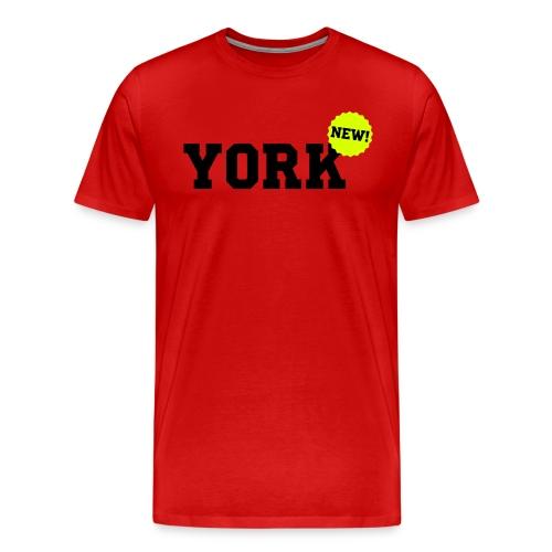 York New - Mannen Premium T-shirt