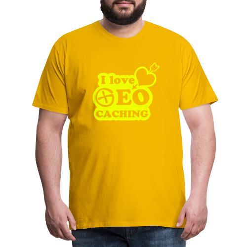 I love Geocaching - 1color - 2011 - Männer Premium T-Shirt