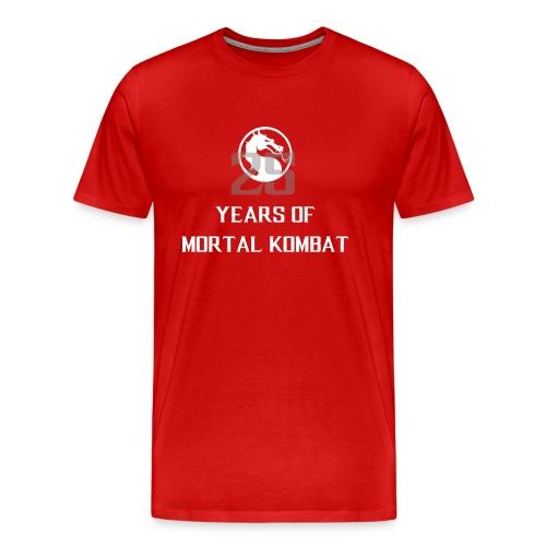 25 Years of Mortal Kombat: Mortal Kombat X ver. 01 - Men's Premium T-Shirt