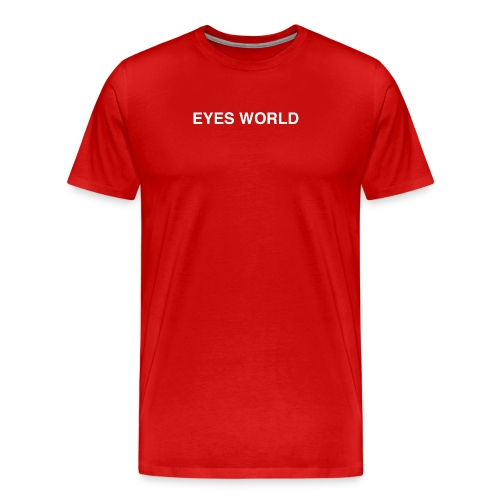 Eyes world original - T-shirt Premium Homme