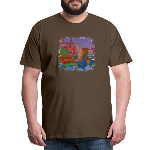 Ljubljana - Männer Premium T-Shirt