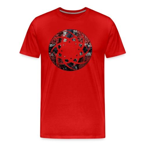 norway - Premium T-skjorte for menn