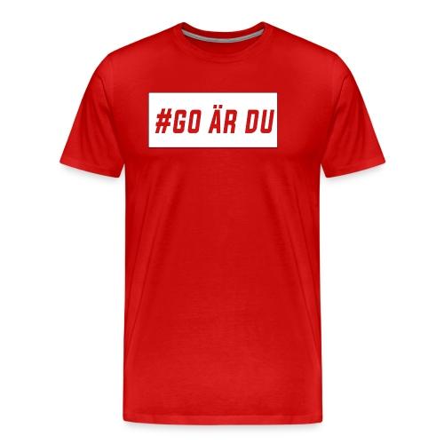 #go är du - Premium-T-shirt herr