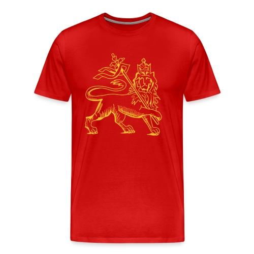 Lion of judah, ancient version by skashirts - Männer Premium T-Shirt