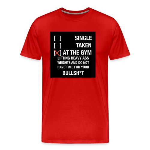 Sodrop single - Mannen Premium T-shirt