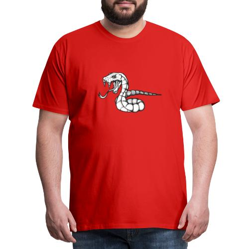 Design Serpent Comics - T-shirt Premium Homme