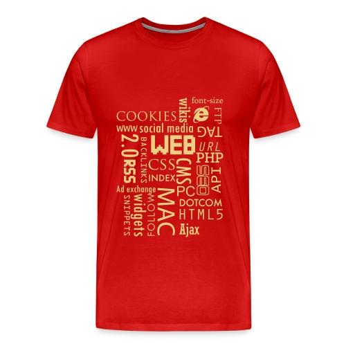 T shirt web - T-shirt Premium Homme