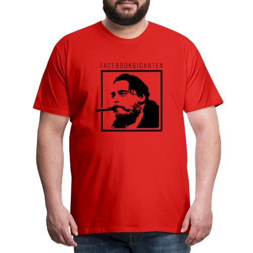 Facebookgiganten - Premium-T-shirt herr