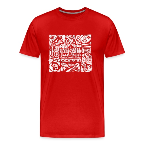 Backyard - T-shirt Premium Homme