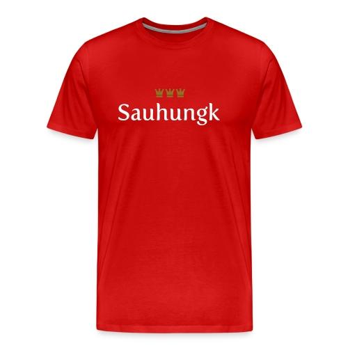 Sauhungk (Köln/Kölsch/Karneval) - Männer Premium T-Shirt