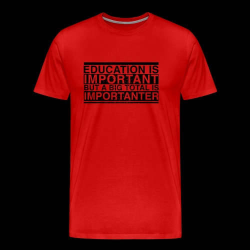 BIG TOTAL - Männer Premium T-Shirt