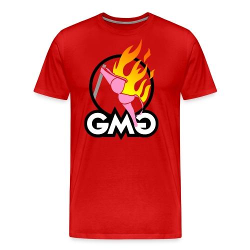 geheime maennergruppe auf hell - Männer Premium T-Shirt