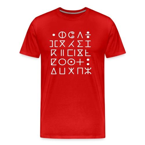 Tifinar Alfa - Mannen Premium T-shirt