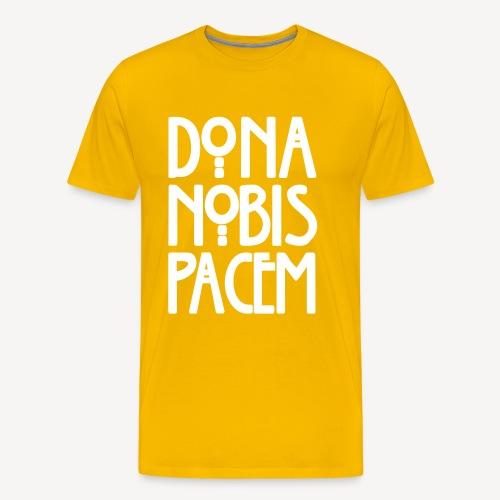 DONA NOBIS PACEM - Men's Premium T-Shirt