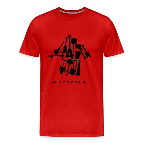 Guitar Arrow - Men's Premium T-Shirt