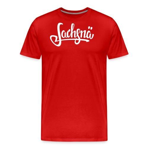 Sachsnä ohneLogo svg - Männer Premium T-Shirt